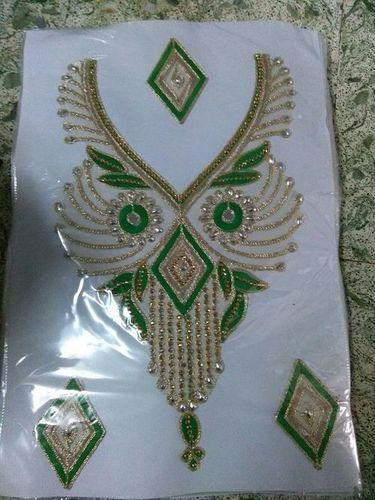 Designer Neck Patch Lace