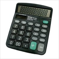 Amigo MI 837 Black Calculator