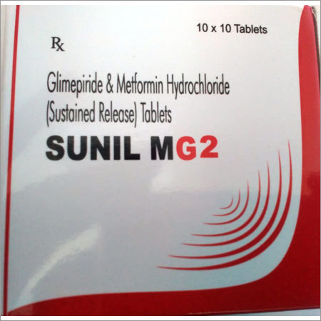 Glimepiride & Metformin Hydrochloride Tablets