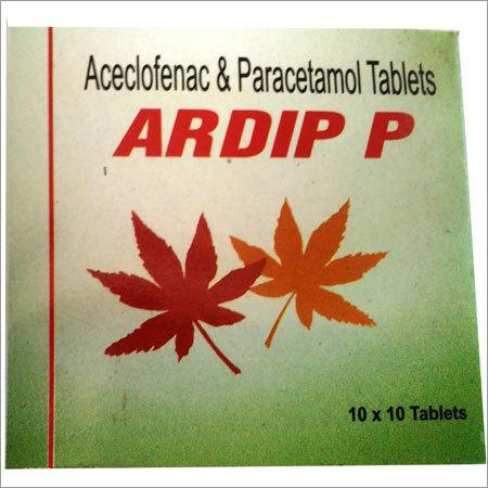 Aceclofenac & Paracetamol Tablets
