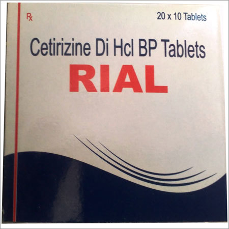 Cetirizine Di Hcl BP Tablets