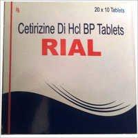 Cetirizine Di Hcl BP Tablets