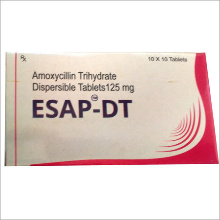Amoxycillin Trihydrate Dispersible Tablets 125mg