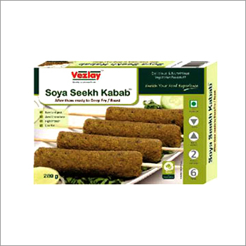 Soya Seekh Kabab
