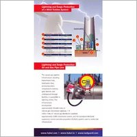Lightning And Surge Protection Of A Wind Turbine S