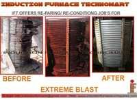 INDUCTION FURNACE MELTING COIL REPARING
