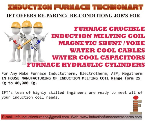 INDUCTION FURNACE REPAIRING