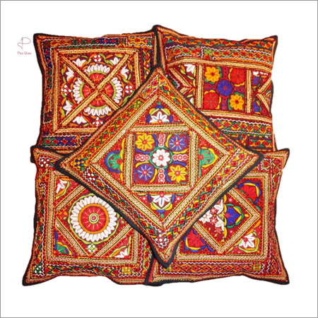 Rajasthani Designer Cushion Cover