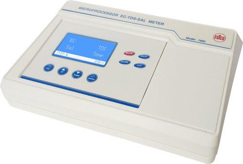 Microprocessor EC-TDS-Sal Meter  1602
