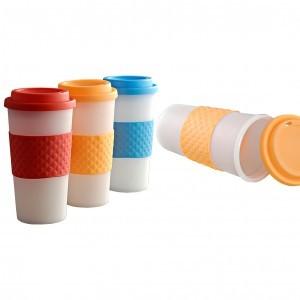 Plastic Band Mug