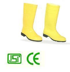 Yellow  Vaultex Gum Boots