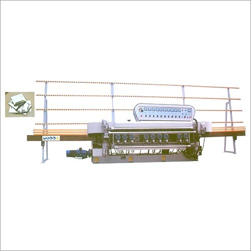 Glass Straight Line Edge Bevelling Machine