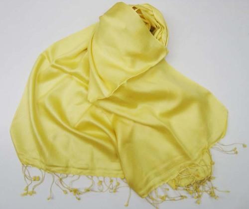 Plain Silk Wool Shawls