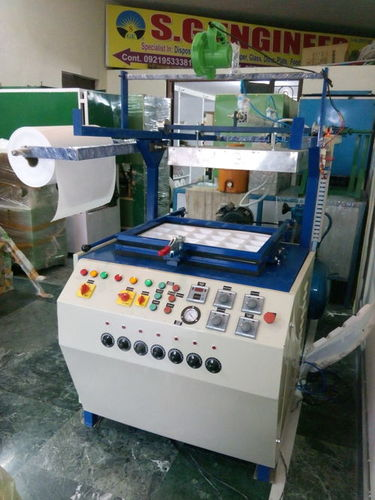 LOW MAINTENANCE DISPOSAL CUP GLASS MAKING MACHINE