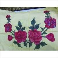 Handmade Woolen Embroidery Bed Sheet