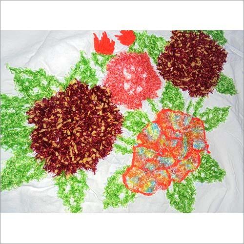 Handmade Woolen Printed Bed Sheet