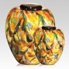 The Mundo Glass Cremation Urn