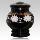 The Bohemian Glass Cremation Urn