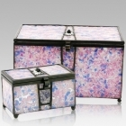 The Rose Cathedral Glass Memory Chest