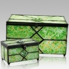 The Verde Cathedral Glass Memory Chest