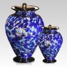 The Acqua Glass Cremation Urn