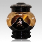 The Aora Glass Cremation Urn