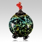 The Tutto Grenalias Art Glass Cremation Urn