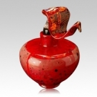 The Faldo Temples Glass Cremation Urn