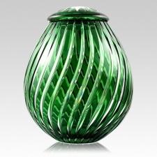 The Apollo Glass Cremation Urn