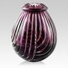 The Artemis Glass Cremation Urn