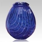The Linnum Glass Cremation Urn
