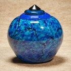 The Electron Glass Cremation Urn