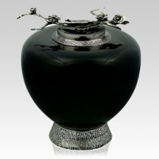 The Eternal Rose Glass Cremation Urn
