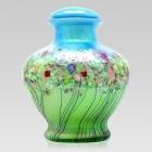 The Springtide Glass Cremation Urn