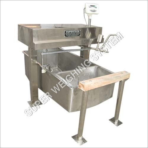 SS Milk Weighing Scale