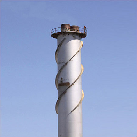 MS Fabricated Wire Rope Chimney