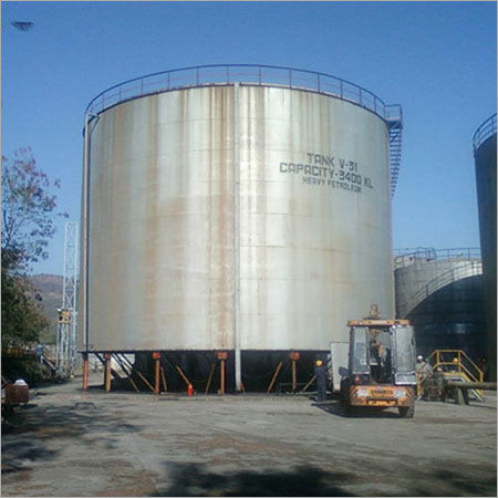 Mild Steel Fabricated Storage Tanks
