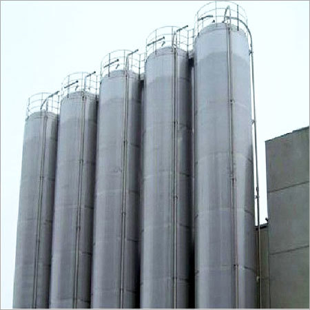 Steel Flyash Silos
