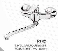 Cuff Wall Mounted Sink Mixer