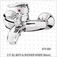 C.P. S/L BATH & SHOWER MIXER (40MM)