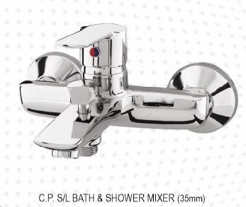 C.P. S/L BATH & SHOWER MIXER (35MM)