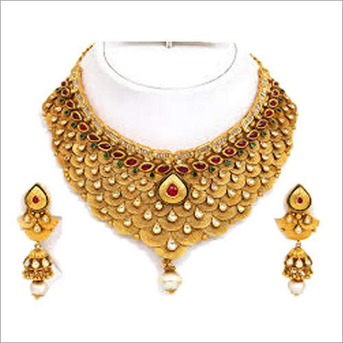 Designer Gold Plated Necklaces