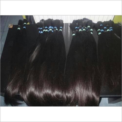 virgin Bulk Silky Straight Hair