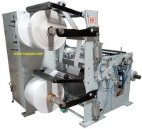 Shaft Less Slitting & Rewinding Machine for Plotter Paper Rolls.