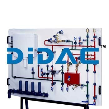 Pipe Cleaning Training Panel Unit