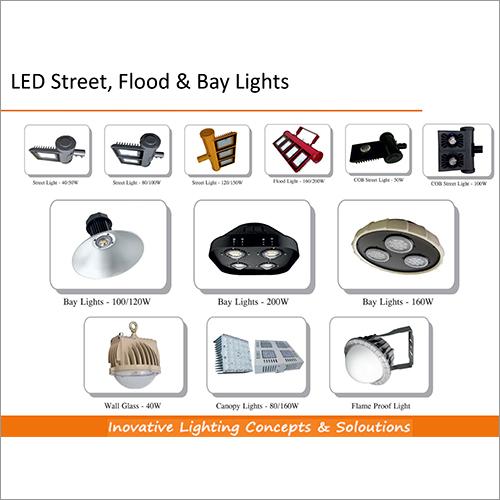 LED Street Flood & Bay Lights