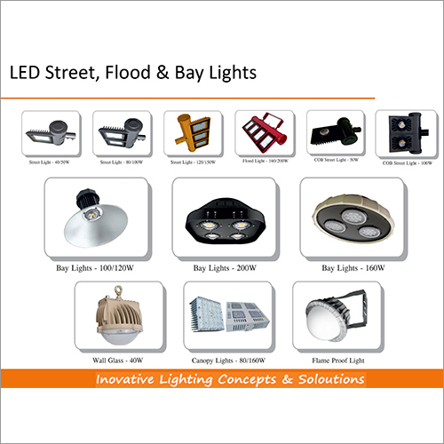 LED Street Flood & Bay Lights