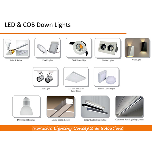 Led & Cob Down Lights