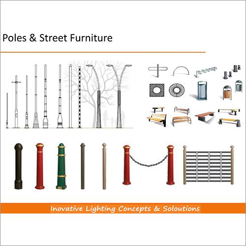 Poles & Street Furniture