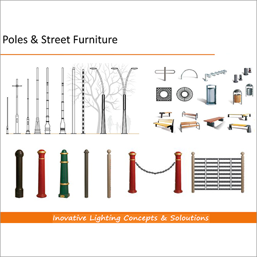 Poles & Street Furniture